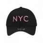 Boné New Era Aba Curva 940 SN Brand AF NYC Outline Preto