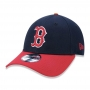 Boné New Era Aba Curva 940 SN MLB Boston Team Color
