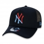 Boné New Era Aba Curva 940 SN MLB NY Yankees AF Trucker 2Tone Navy