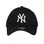 Boné New Era Aba Curva 940 SN MLB NY Yankees Colors Preto Low