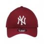 Boné New Era Aba Curva 940 SN MLB NY Yankees Colors Vinho