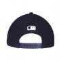 Boné New Era Aba Curva 940 SN MLB NY Yankees Mini Logo Azul Escuro Low