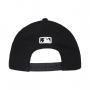 Boné New Era Aba Curva 940 SN MLB NY Yankees Mini Logo Preto Low