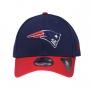 Boné New Era Aba Curva 940 SN NFL Patriots 2Tone