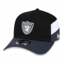 Boné New Era Aba Curva 940 SN NFL Raiders AF Fresh Side Cut