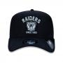 Boné New Era Aba Curva 940 SN NFL Raiders Vintage College