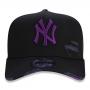 Boné New Era Aba Curva 940 ST MLB NY Yankees AF Destroyed Colors Preto