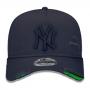 Boné New Era Aba Curva 940 ST MLB NY Yankees AF Destroyed Tonal Cinza