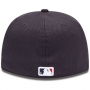Boné New Era Aba Reta 5950 MLB Atlanta Diamond Era