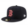 Boné New Era Aba Reta 5950 MLB Boston Game Cap
