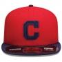 Boné New Era Aba Reta 5950 MLB Indians Diamond Era