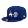Boné New Era Aba Reta 5950 MLB Los Angeles Patchwork Undervisor