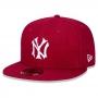 Boné New Era Aba Reta 5950 MLB NY Yankees Reborn Vermelho