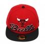 Boné New Era Aba Reta 5950 NBA Chicago Bulls Script Down