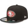 Boné New Era Aba Reta 5950 NFL 49ers Game