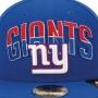 Boné New Era Aba Reta 5950 NFL Giants Draft Team