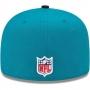 Boné New Era Aba Reta 5950 NFL Jaguars Game
