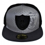 Boné New Era Aba Reta 5950 NFL Raiders Reflective