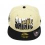 Boné New Era Aba Reta 5950 NFL Saints Splatter Fill
