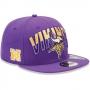 Boné New Era Aba Reta 5950 NFL Vikings Draft Team