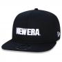 Boné New Era Aba Reta 950 SN Brand OF Sign Moletom Preto
