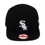 Boné New Era Aba Reta 950 SN MLB Chicago Sox OF Team Color Preto