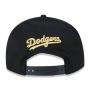 Boné New Era Aba Reta 950 SN MLB Los Angeles OF Gold Preto