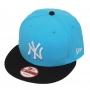 Boné New Era Aba Reta 950 SN MLB NY Yankees 2Tone League Azul Claro