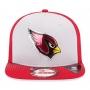 Boné New Era Aba Reta 950 SN NFL Cardinals Draft Patch Grey