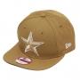 Boné New Era Aba Reta 950 SN NFL Cowboys OF Colors Marrom Claro