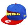 Boné New Era Aba Reta 950 SN Superman Title Front