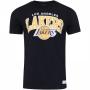 Camiseta Mitchell & Ness NBA Los Angeles Lakers Team Arch Preto
