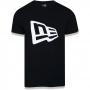 Camiseta New Era Brand Flag Basic Preto
