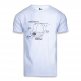 Camiseta New Era Brand Info 5950 Cap Branco
