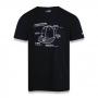 Camiseta New Era Brand Info 5950 Cap Preto