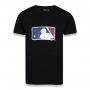 Camiseta New Era MLB Flag Logo Essentials Preto