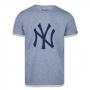 Camiseta New Era MLB NY Yankees Essentials Cinza