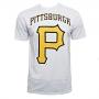 Camiseta New Era MLB Pirates Big Logo Branco