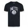 Camiseta New Era NBA Brooklyn Nets Basic Team Preta