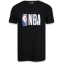 Camiseta New Era NBA Flag Logo Essentials Preto Plus Size