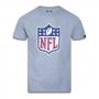 Camiseta New Era NFL Flag Logo Basic Time Cinza