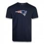 Camiseta New Era NFL Patriots Basic Time Marinho