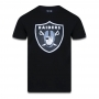 Camiseta New Era NFL Raiders Basic Time Preto