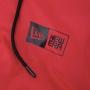 Jaqueta New Era Brand Flag Corta Vento Logo Box Duo Vermelho