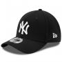 Kit 2 Boné New Era Aba Curva 3930 MLB NY Yankees Branco e Preto