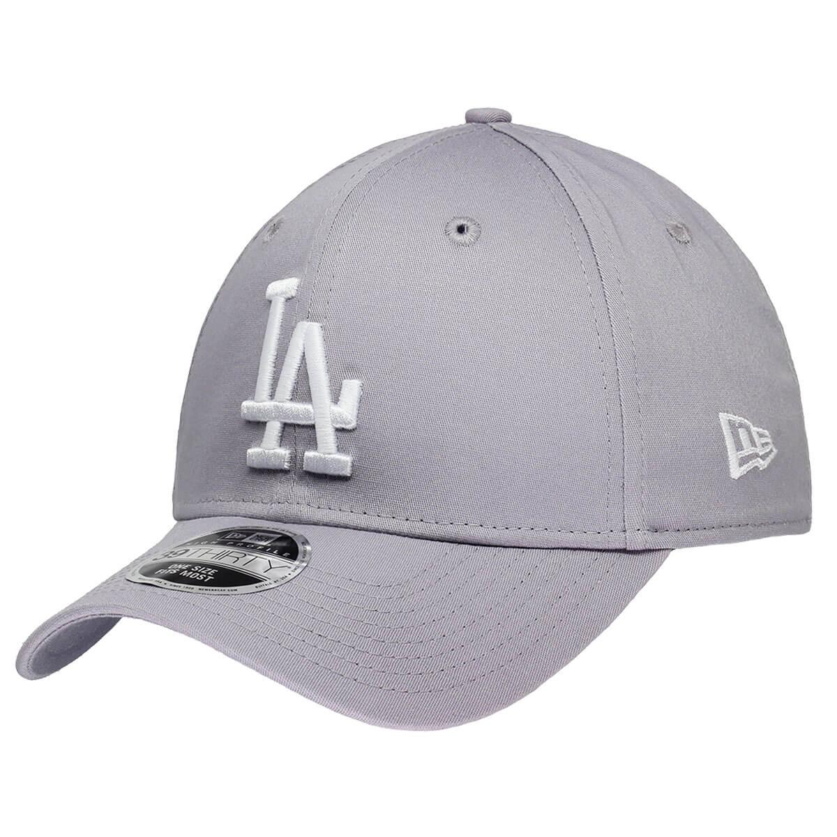 Boné New Era Aba Curva 3930 MLB Los Angeles Colors Cinza