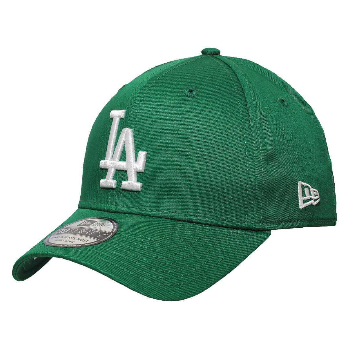 Boné New Era Aba Curva 3930 MLB Los Angeles Colors Verde