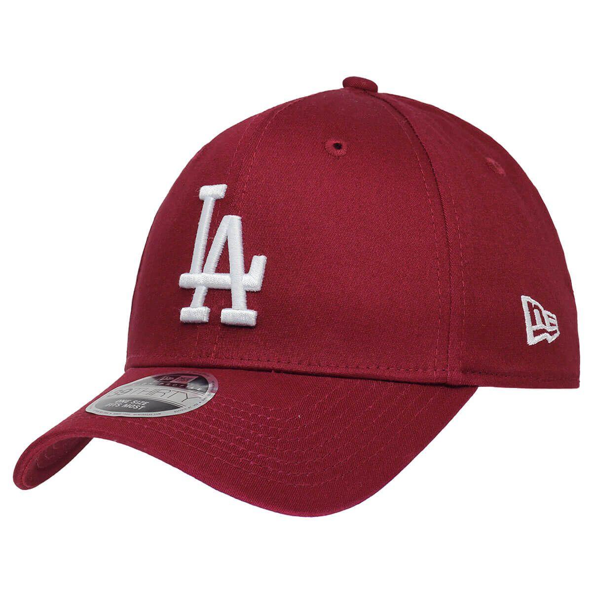 Boné New Era Aba Curva 3930 MLB Los Angeles Colors Vinho