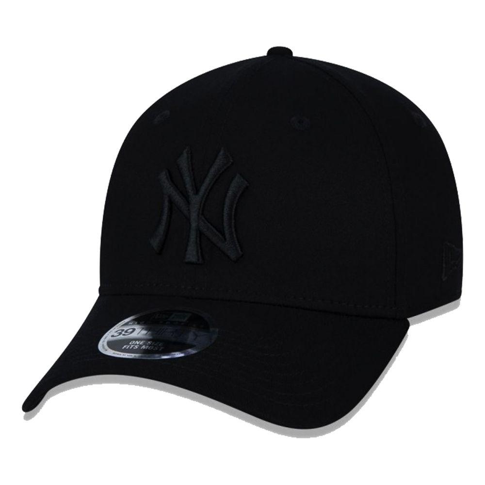 Boné New Era Aba Curva 3930 MLB NY Yankees Blackout