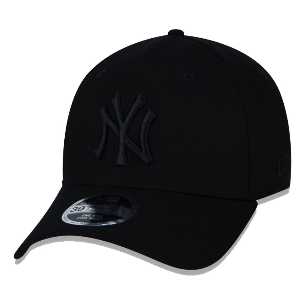 Boné New Era Aba Curva 3930 MLB NY Yankees Blackout